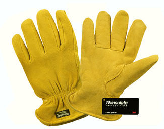 Q-16TL DEERSKIN THINSULATE LINED